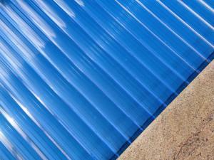 Typ 830 transparent blue