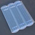 Typ 600 transparent blue