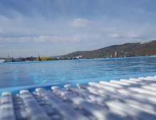Porta Nigra Trevír – bazén v pátem patře